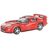 Коллекционная машинка Serinity Toys Dodge Viper, красная