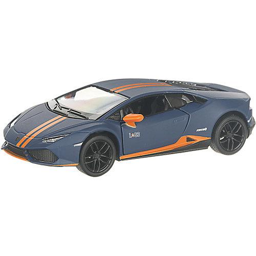 Коллекционная машинка Serinity Toys Lamborghini Huracan LP610-4 матовый, синяя от Serinity Toys