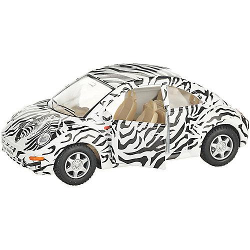 Коллекционная машинка Serinity Toys Volkswagen Beetle New, белая от Serinity Toys