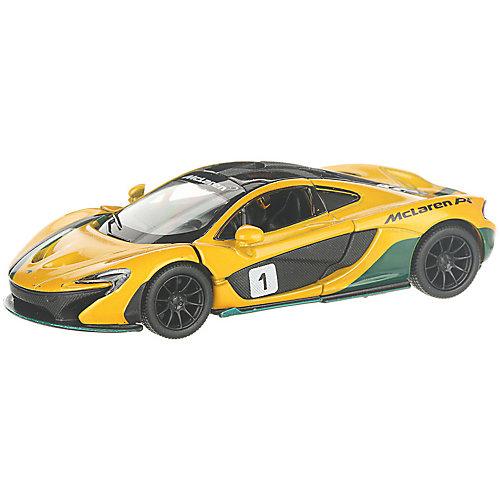 Коллекционная машинка Serinity Toys McLaren P1, жёлтая от Serinity Toys