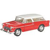 Коллекционная машинка Serinity Toys Chevrolet Nomad, красная