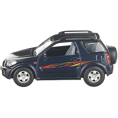 Коллекционная машинка Serinity Toys Toyota RAV4, синяя от Serinity Toys