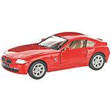 Коллекционная машинка Serinity Toys BMW Z4 Купе, красная
