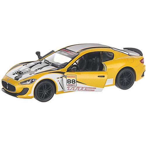 Коллекционная машинка Serinity Toys 2016 Maserati GranTurismo раскрашенный, жёлтая от Serinity Toys