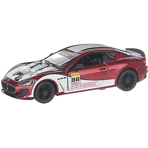 Коллекционная машинка Serinity Toys 2016 Maserati GranTurismo раскрашенный, бордовая от Serinity Toys
