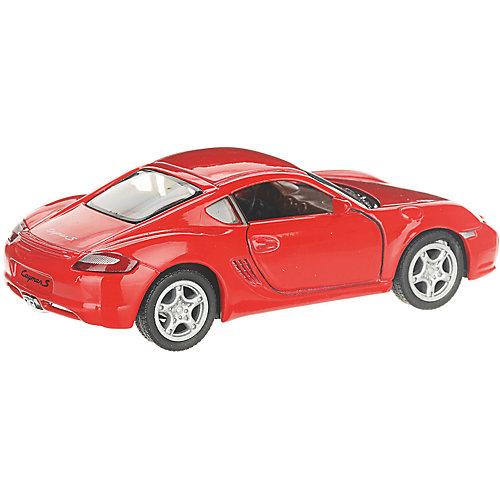 Коллекционная машинка Serinity Toys Porsche Cayman, красная от Serinity Toys