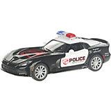 Коллекционная машинка Serinity Toys 2013 Dodge SRT Viper GTS Полиция, чёрно-белая