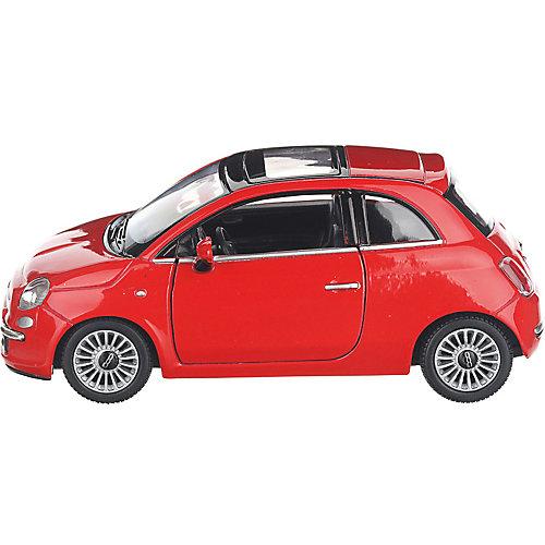 Коллекционная машинка Serinity Toys Fiat 500, красная от Serinity Toys