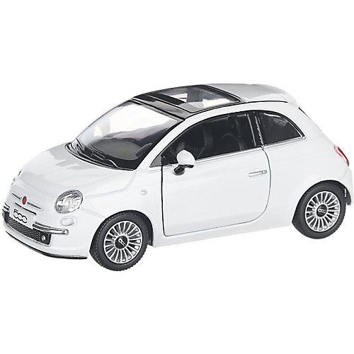 Коллекционная машинка Serinity Toys Fiat 500, белая от Serinity Toys