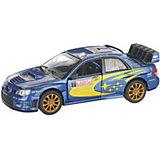 Коллекционная машинка Serinity Toys Subaru Impreza WRC 2007, синяя