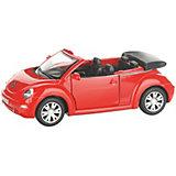 Коллекционная машинка Serinity Toys Volkswagen Beetle кабриолет, красная