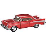 Коллекционная машинка Serinity Toys Chevrolet Bel Air, красная