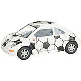 Коллекционная машинка Serinity Toys Volkswagen Beetle New Футбольный, белая с чёрным