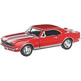 Коллекционная машинка Serinity Toys 1967 Chevrolet Camaro Z/28, красная