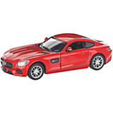Коллекционная машинка Serinity Toys Mercedes-AMG GT, красная