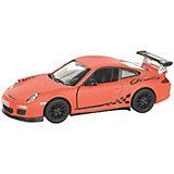 Коллекционная машинка Serinity Toys Porsche GT3 RS, оранжевая