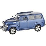 Коллекционная машинка Serinity Toys Chevrolet Субурбан, синяя