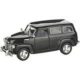 Коллекционная машинка Serinity Toys Chevrolet Субурбан, чёрная