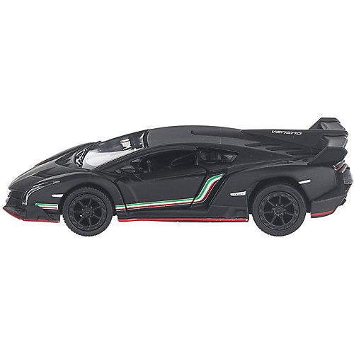 Коллекционная машинка Serinity Toys Lamborghini Veneno, чёрная от Serinity Toys
