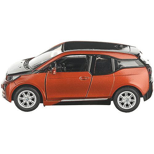 Коллекционная машинка Serinity Toys BMW i3, оранжевая от Serinity Toys