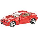 Коллекционная машинка Serinity Toys Merсedes-Benz SLK, красная