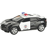 Коллекционная машинка Serinity Toys Lamborghin Urus Полиция, чёрно-белая