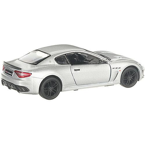 Коллекционная машинка Serinity Toys 2016 Maserati GranTurismo, серебристая от Serinity Toys