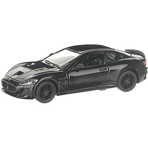 Коллекционная машинка Serinity Toys 2016 Maserati GranTurismo, чёрная от Serinity Toys