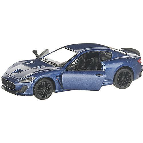 Коллекционная машинка Serinity Toys 2016 Maserati GranTurismo, синяя от Serinity Toys