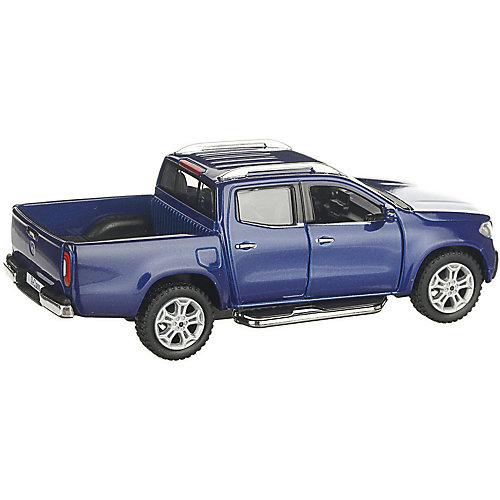 Коллекционная машинка Serinity Toys Mercedes-Benz X-Class Пикап, синяя от Serinity Toys