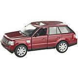 Коллекционная машинка Serinity Toys Range Rover, бордовая