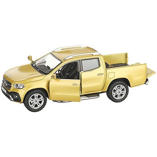 Коллекционная машинка Serinity Toys Mercedes-Benz X-Class Пикап, жёлтая от Serinity Toys