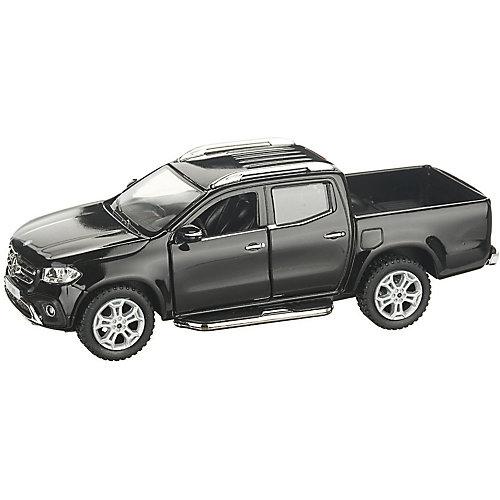 Коллекционная машинка Serinity Toys Mercedes-Benz X-Class Пикап, чёрная от Serinity Toys