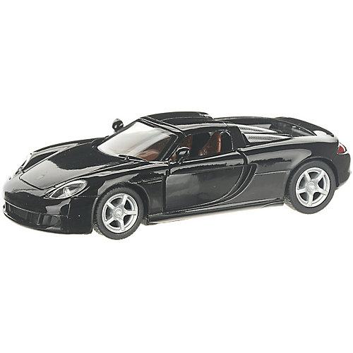 Коллекционная машинка Serinity Toys Porsche Carrera GT, чёрная от Serinity Toys