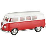 Металлический автобус Serinity Toys Volkswagen Classical, красный