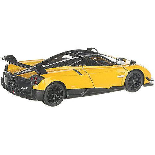 Коллекционная машинка Serinity Toys 2016 Pagani Huayra BC, жёлтая от Serinity Toys