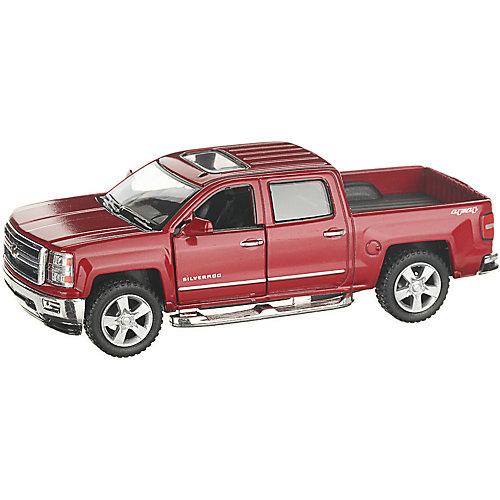 Коллекционная машинка Serinity Toys 2014 Chevrolet Silverado, красная от Serinity Toys