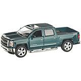 Коллекционная машинка Serinity Toys 2014 Chevrolet Silverado, зелёная