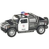 Коллекционная машинка Serinity Toys Hummer Н2 Полиция, чёрная