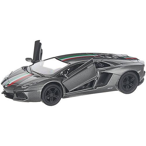 Коллекционная машинка Serinity Toys Lamborghini Aventador LP700-4, тёмно-серая от Serinity Toys