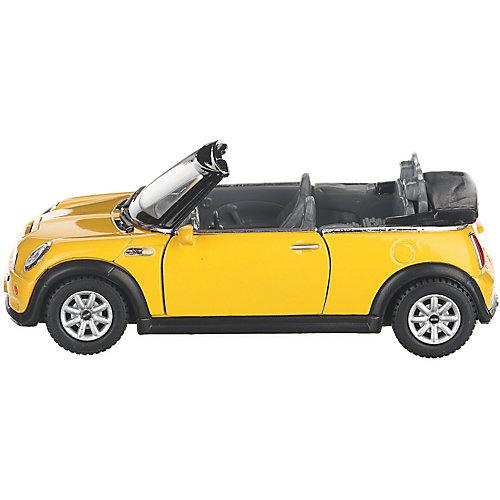 Коллекционная машинка Serinity Toys Mini Cooper С кабриолет, жёлтая от Serinity Toys