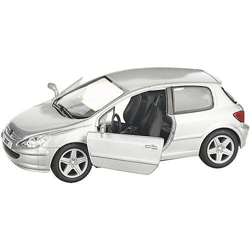 Коллекционная машинка Serinity Toys Peugeot 307, серебристая от Serinity Toys
