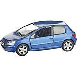 Коллекционная машинка Serinity Toys Peugeot 307, синяя