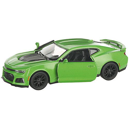 Коллекционная машинка Serinity Toys 2017 Chevrolet Camaro ZL1, салатовая от Serinity Toys