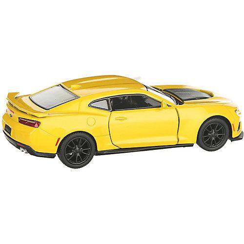 Коллекционная машинка Serinity Toys 2017 Chevrolet Camaro ZL1, жёлтая от Serinity Toys