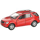 Коллекционная машинка Serinity Toys Merсedes-Benz ML, красная