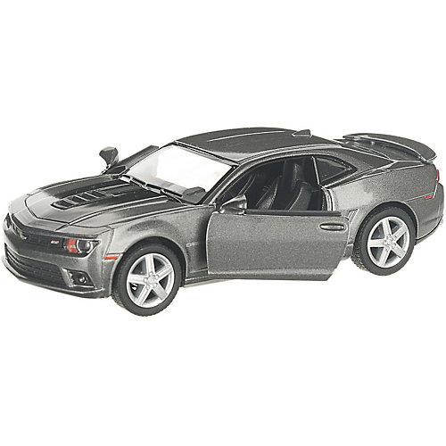 Коллекционная машинка Serinity Toys Chevrolet Camaro 2014 раскрашенный, серебристая от Serinity Toys