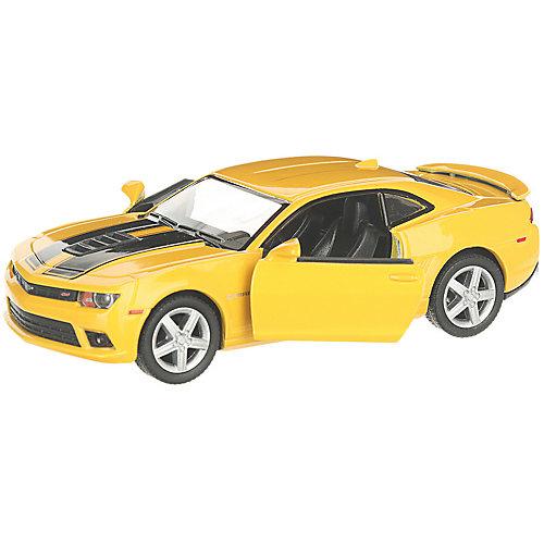 Коллекционная машинка Serinity Toys Chevrolet Camaro 2014 раскрашенный, жёлтая от Serinity Toys