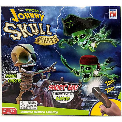 Проекционный тир Fotorama Johnny the Skull Джонни Пират с 1 бластером от Fotorama