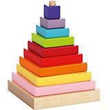 Пирамидка Cubika, 9 деталей